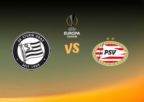 Sturm Graz vs PSV Eindhoven  Resumen