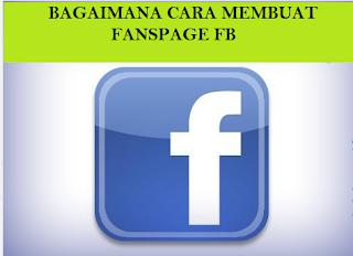 Cara Membuat Halaman FansPage Facebook Untuk Blog Kita