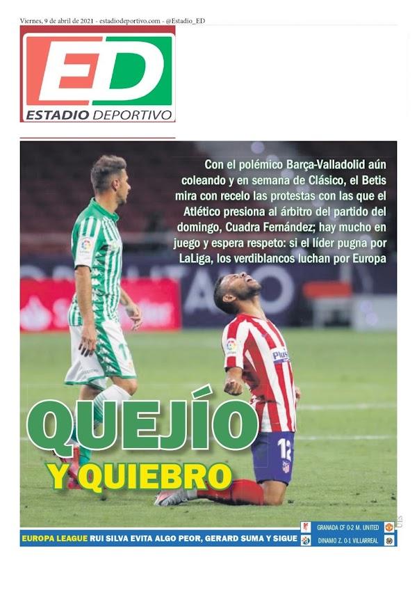 """Betis, Estadio Deportivo: """"Quejío y quiebro"""""""
