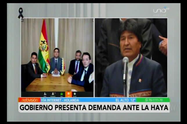 Juntos y UD coinciden en que la demanda contra Morales por actos inhumanos sentará un precedente