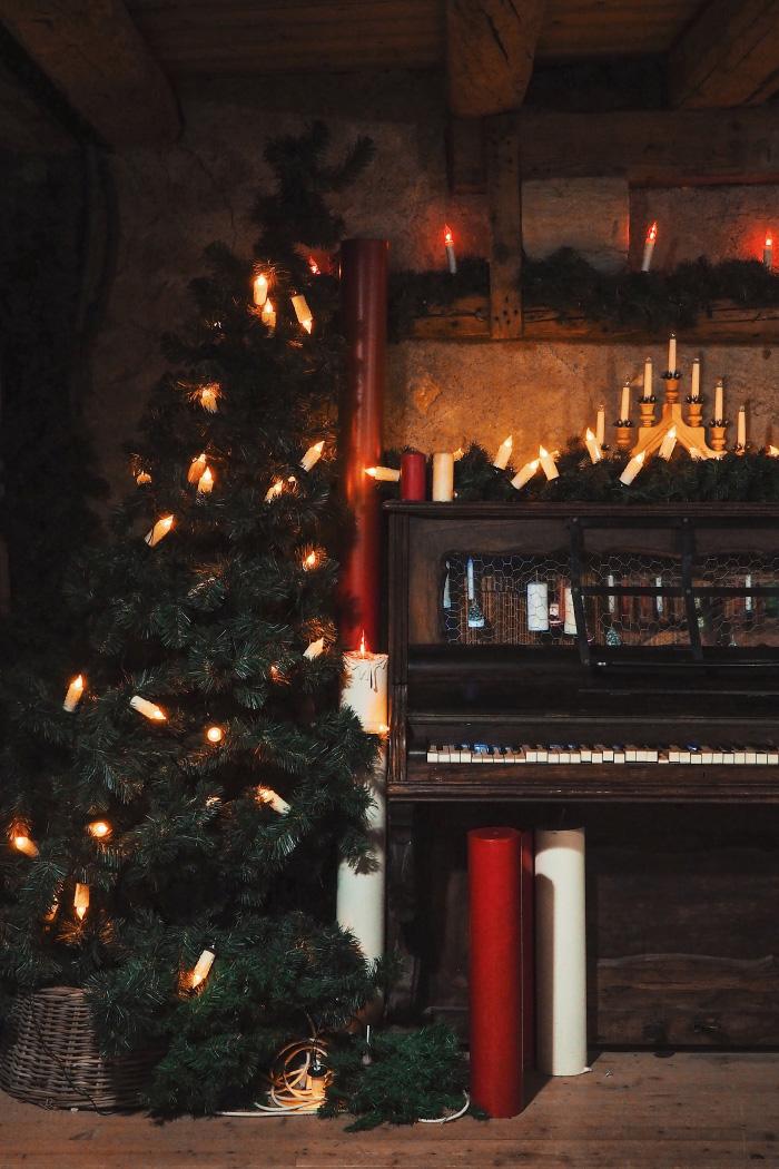 Visite du hameau du Père Noël en Haute-Savoie