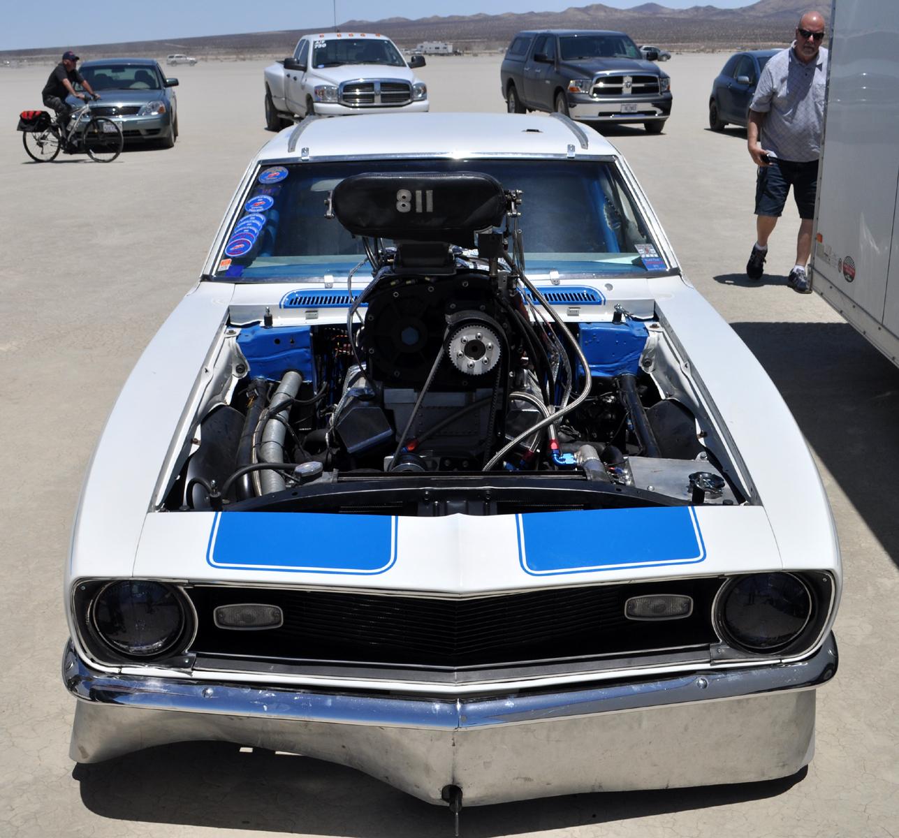 Just A Car Guy: '68 Camaro With A Big Damn 8-71 Supercharger
