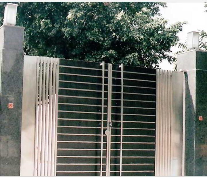 Pagar Rumah Minimalis Stenlis  17 new pagar rumah stenlis minimalis rumah