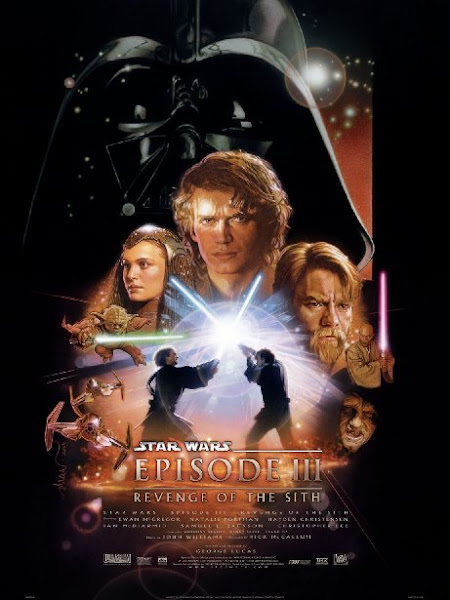 Poster Of Star Wars Episode III Revenge Of The Sith 2005 720p Hindi BRRip Dual Audio