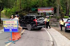 Polres Samosir Pulangkan Pendatang Yang Tidak Bisa Menunjukkan Surat