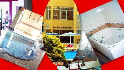 Основа сан.кур.лечения и профилактики в Болгарии - природные воды и факторы. 'Солнце, воздух и вода' не исключают и хайтек-оздоровительных процедур.