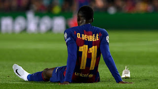 Barcelona have no intention of getting rid of Dembele