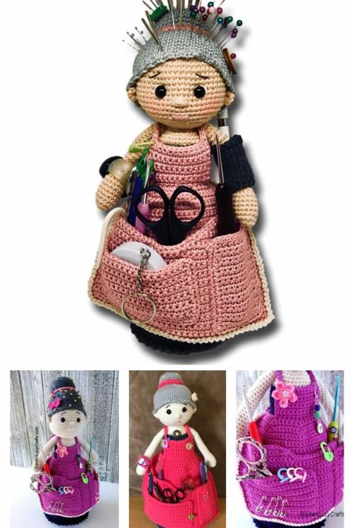 Crochet Crafter Granny Organizer - Free Pattern