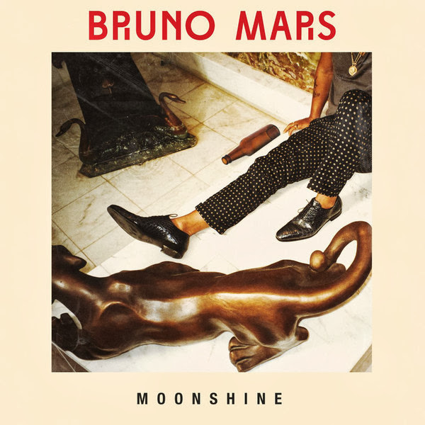 Bruno Mars - Moonshine - Single Cover