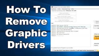 أداة, فعالة, لإزالة, برامج, وتعريفات, كارت, الشاشة, وبطاقة, الرسومات, والغاء, تثبيتها, Display ,Driver ,Uninstaller