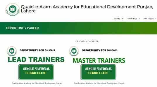 Punjab School Education Jobs 2021