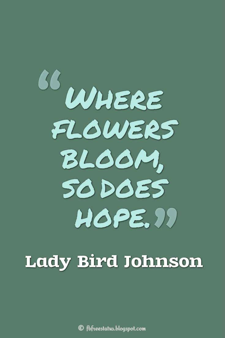 "Happy Easter Wishes, ""Where flowers bloom, so does hope."" ― Lady Bird Johnson"
