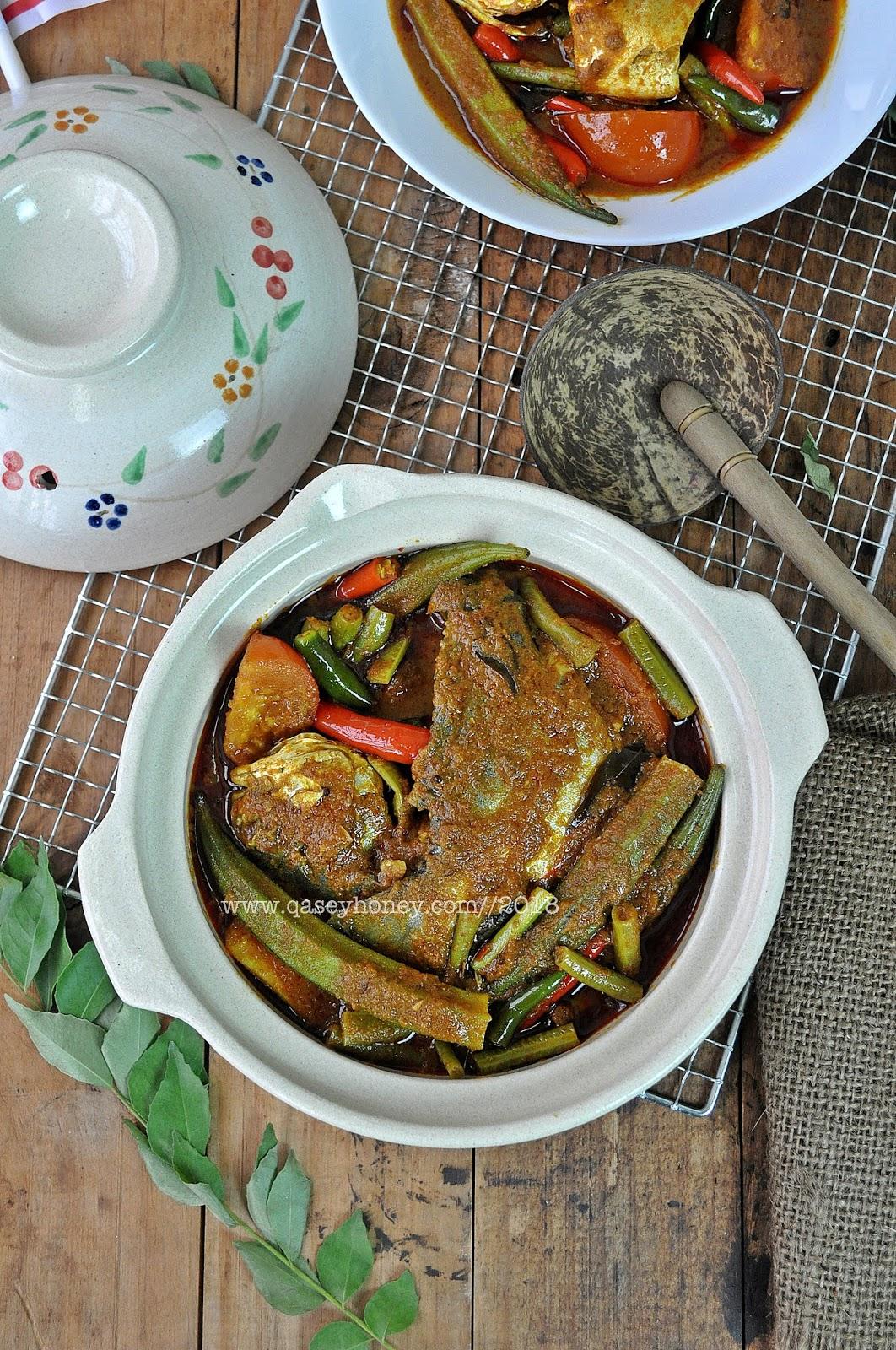 Kari Ikan Bawal Ala Mamak Yang Sedap Qasey Honey