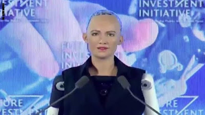 صوفيا أعجوبة الذكاء الاصطناعي