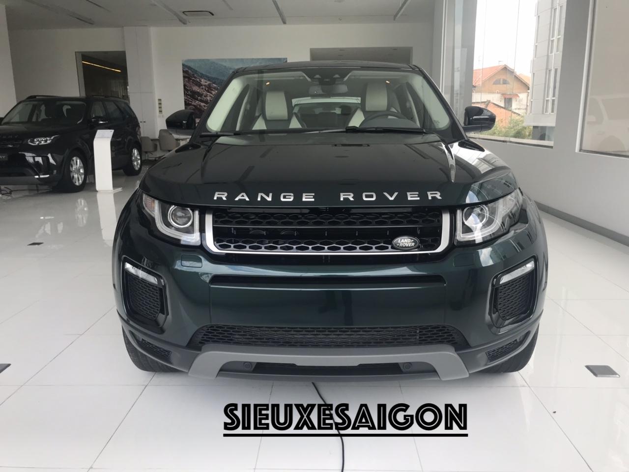 Xe Range Rover Chiếc SUV Nhỏ Mang Tên Evoque Đời 2018-2019, Evoque HSE, Evoque SE Plus 2020, Xe 5 Chỗ Màu Xanh Rêu Aintree Green,