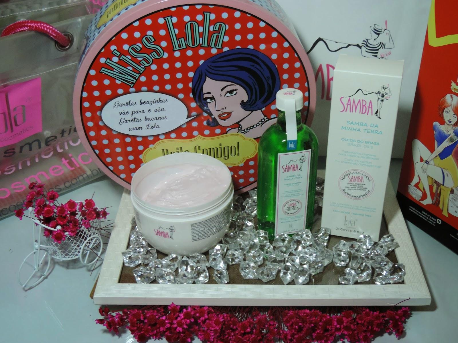 Produtos Lola Cosmetics