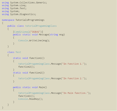example syntax conditional attributes c#