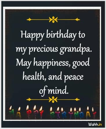 Amazing Happy Birthday Wishes and Cards for Grandfather