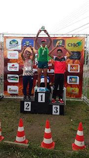Baraunense é Campeão Geral da corrida 'NatuDesaFrio-Cross Coutryn' na cidade de Remigio