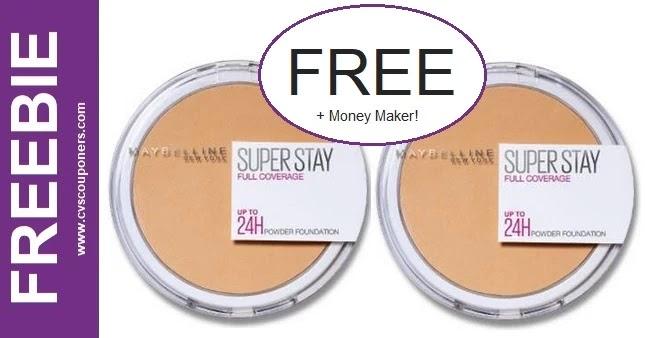FREE Maybelline Super Stay Powder CVS Deal