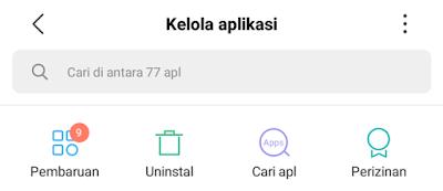 kelola aplikasi