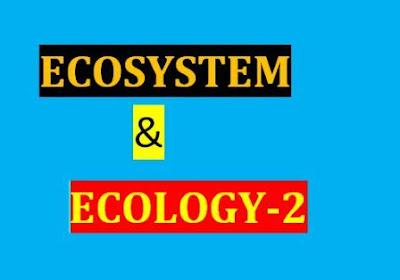 ELEMENT OF ECOSYATEM