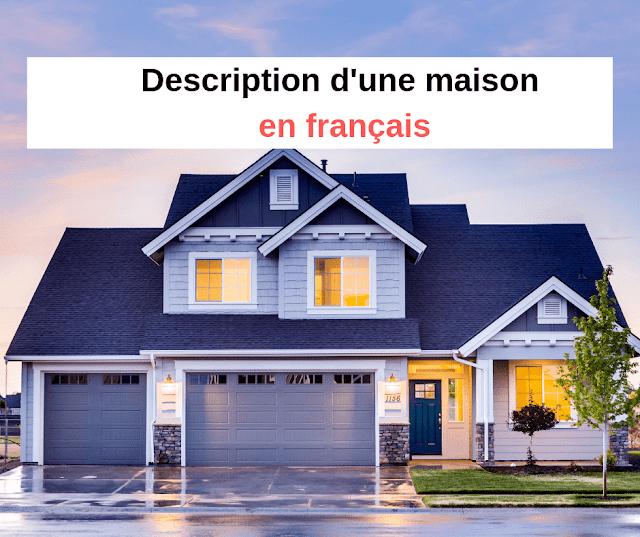 Dialogue en français pour les débutants PDF : Description d'une maison en français