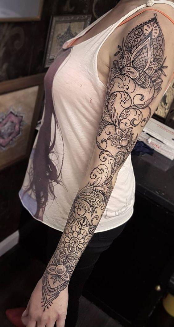 Seven super popular arm tattoos