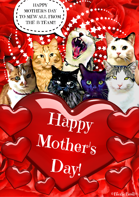 Happy Mothers Day Card 2019 @BionicBasil®