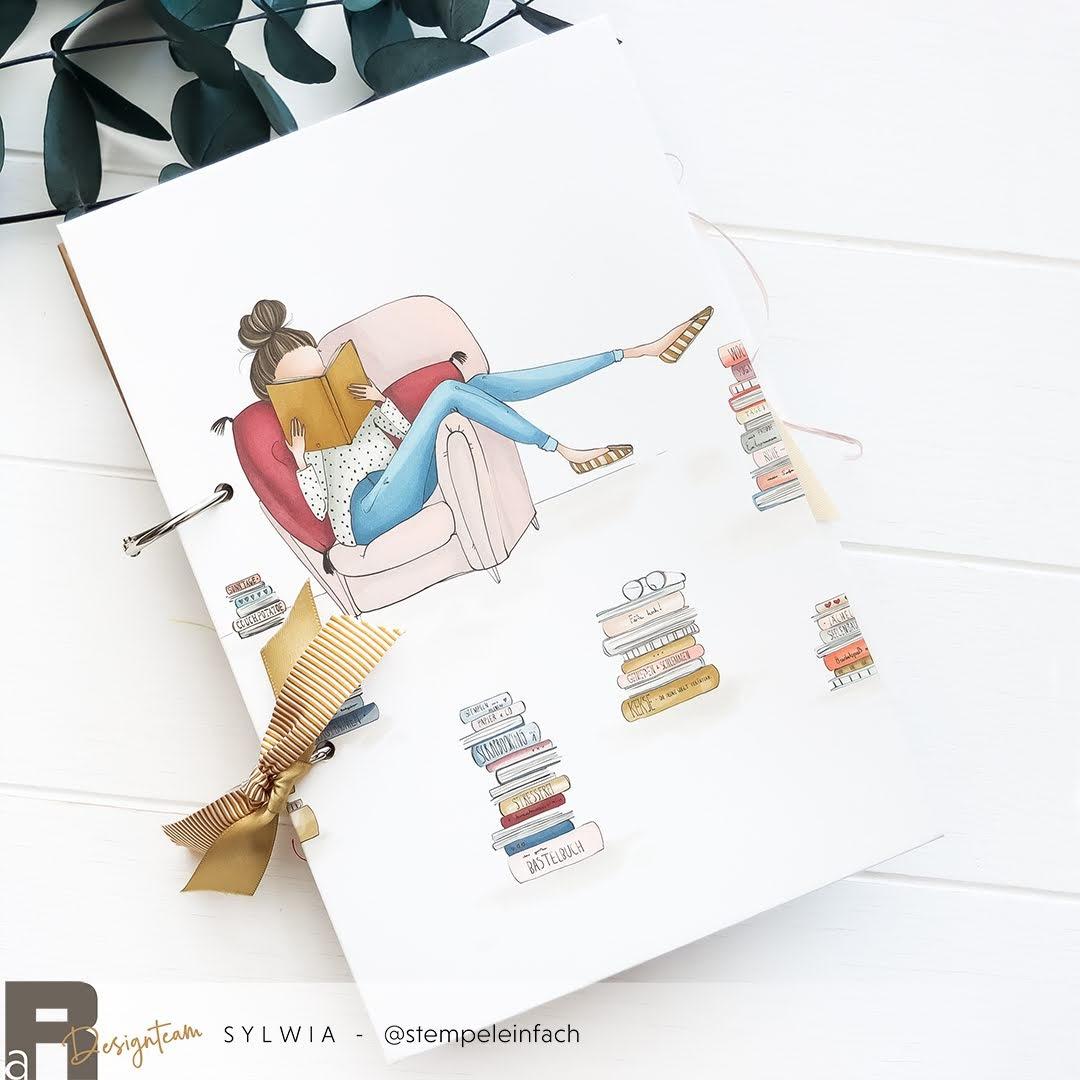 Minialbum mit flexiblen Ringbindung