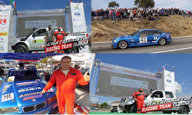 Δυναμικό παρών θα δώσει ο Φλωρινιώτης πρωταθλητής οδηγός αγώνων Τάσος Χατζηχρήστος στην 5η Ανάβαση Βλάστης Πτολεμαΐδας.