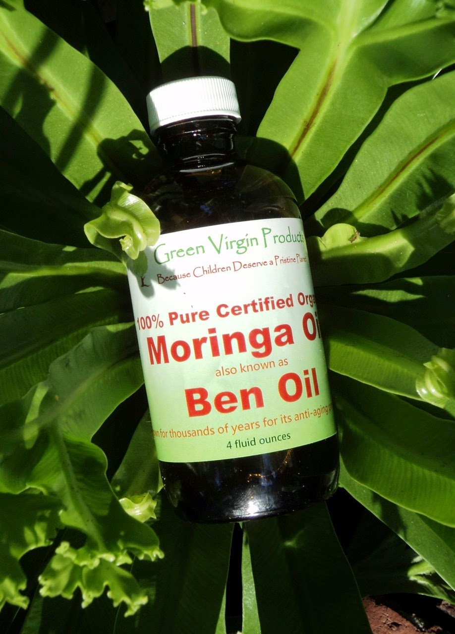Review of 100% Moringa Oil available at Green Virgin Products