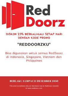 Kode Promo Reddoorz Aktif Selamanya