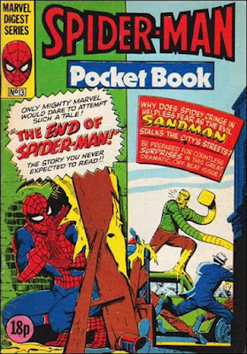Spider-Man pocket book #13, the Sandman