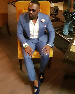 Jim Iyke fashion and style latest photos