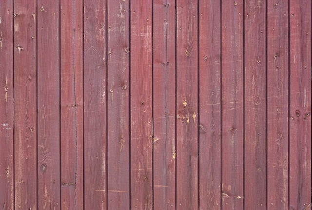 Red wooden fence texture