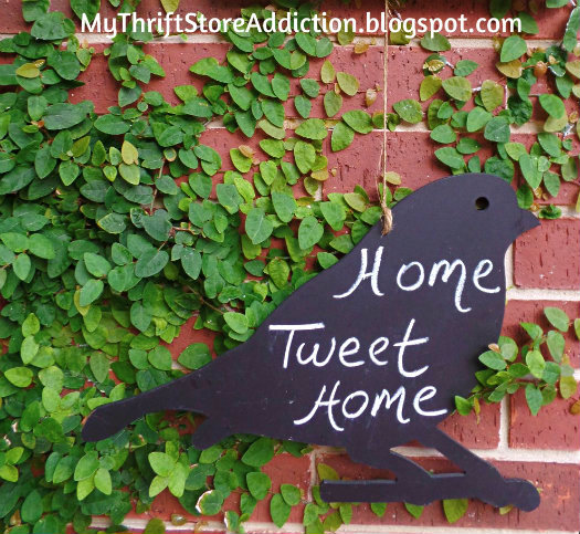 Home Tweet Home Garden sign