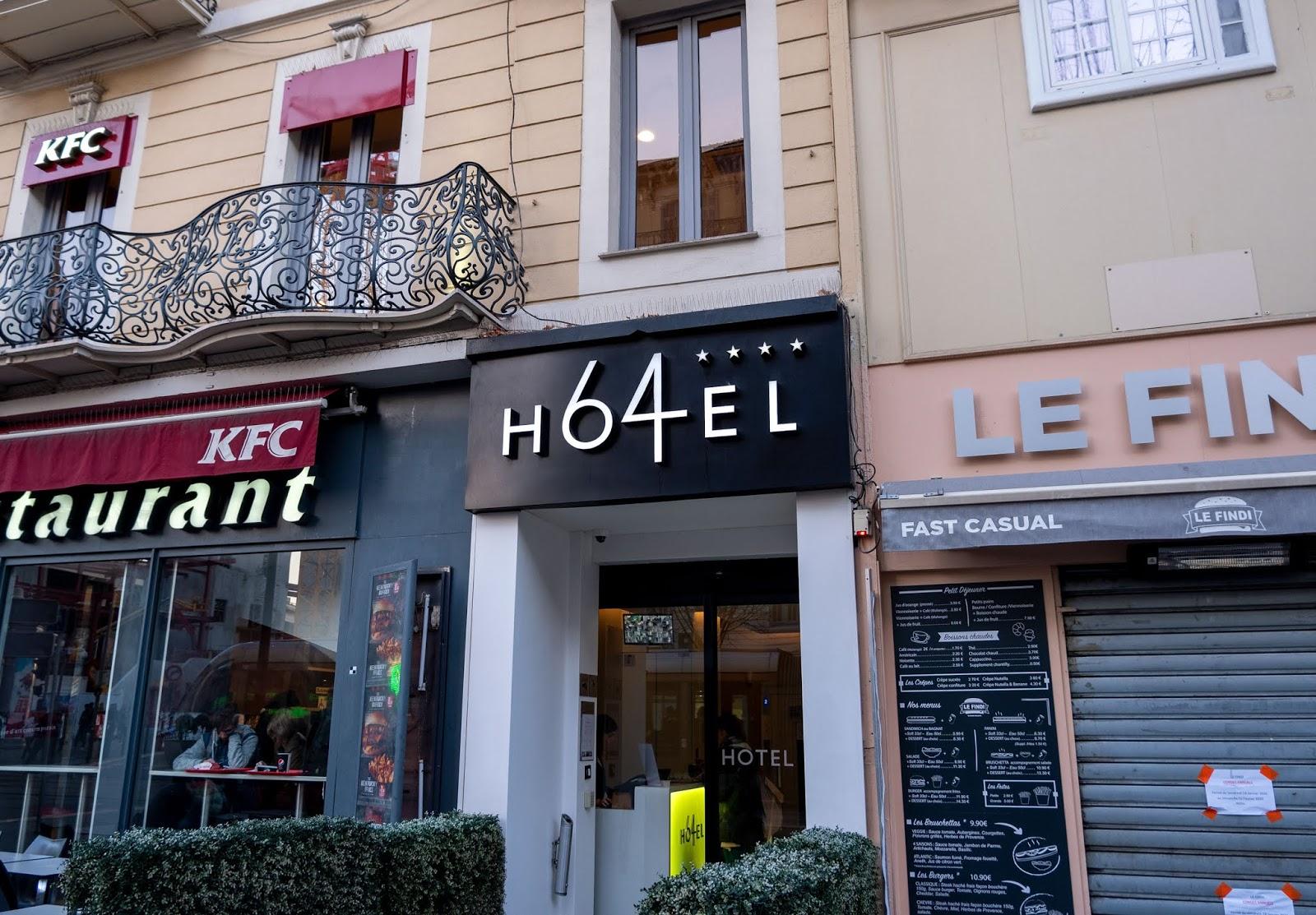Hotel 64 in Nice, France