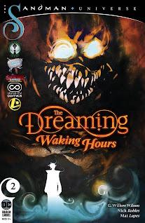 Se agrega el #02 de la maxi serie regular de The Dreaming - Waking Hours de parte de la alianza entre Cómics 9R, Rincón Geek, Gisicom, Infinity Cómics y Legion de Comiqueros