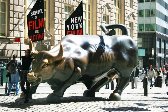 My Travel Background : Une semaine à New York : Charging Bull