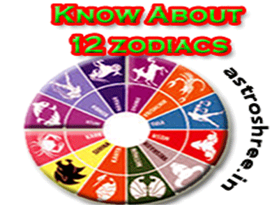 12 rashi/zodiacs details by astrologer