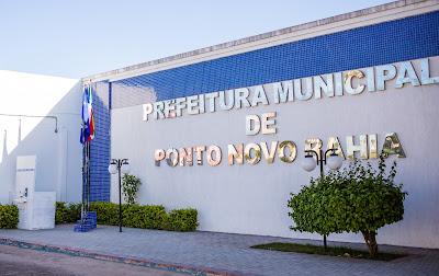 Fotografia da Prefeitura de Ponto Novo, feita pelo fotógrafo Romilson Almeida