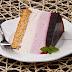 Juodųjų serbentų Ombre tortas | Black Currant Ombre Cake