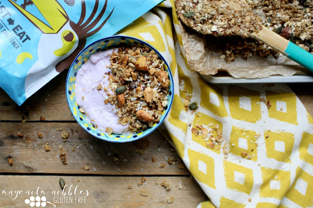 Rethink breakfast and transform your morning with a gluten free, vegan-friendly toast-it-yourself granola from Troo!