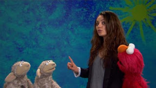 Mila Kunis and Elmo present the word Include. Sesame Street The Best of Elmo 3