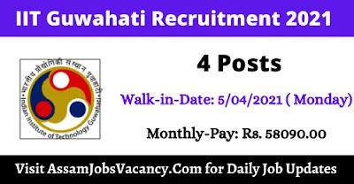 IIT Guwahati Recruitment