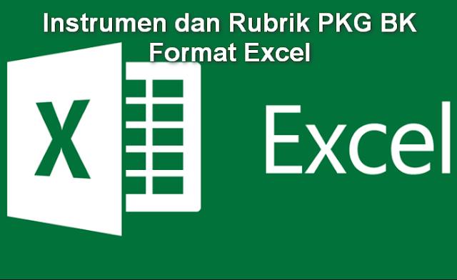 Instrumen dan Rubrik PKG BK Format Excel