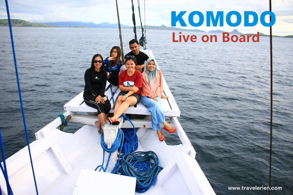 Live on board Komodo 3D2N - KLM Lamborajo