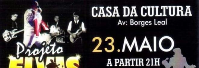 Projeto Elvis estreia no palco da Casa da Cultura nesta quinta-feira
