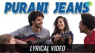 Purani Jeans Lyrics Ali Haider | Gore Rang Ka Zamana